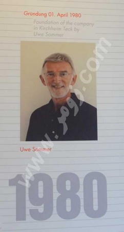 آقای Uwe Sommer موسس زومر