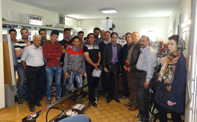 بازدید مدیر عامل زومر از نمایندگی ایران