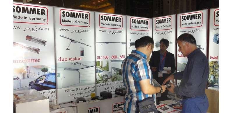حضور زومر در نمایشگاه ساختمان تهران