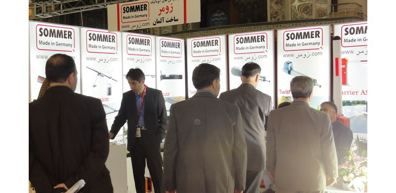 زومر در نمایشگاه ساختمان تهران واقع در مصلا